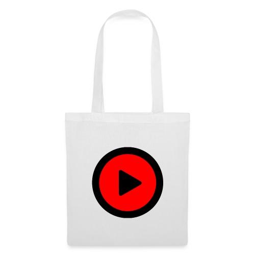 LOGO PLAY BLANCO - Bolsa de tela
