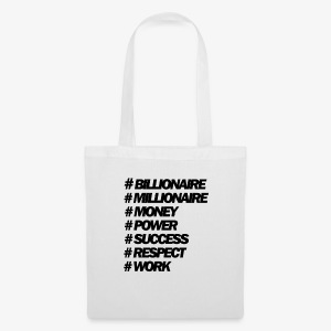 Hastags Money And Power People - Bolsa de tela