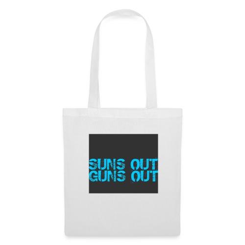 Felpa suns out guns out - Borsa di stoffa