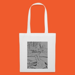 2 finger salute - Tote Bag