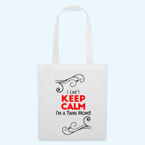 I Can't Keep Calm (voor lichte stof) - Tas van stof