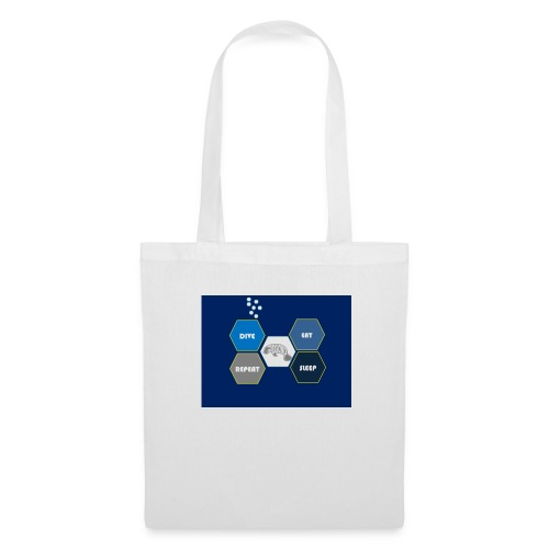 Dive_sleep_repeat_Hexagonal_v1-0_20161118 - Tote Bag