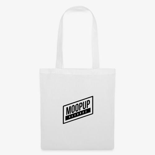 Moopup Records Merchandising (Black Logo) - Bolsa de tela