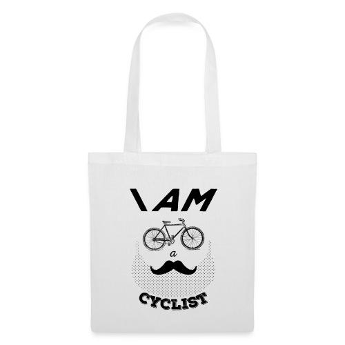 I am a cyclist - Borsa di stoffa