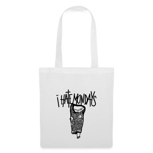 Lundi, je déteste les lundis, je hais les lundis - Tote Bag