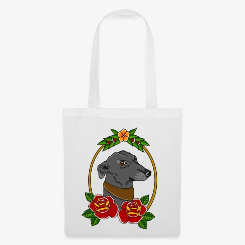 Blue Greyhound - Tote Bag