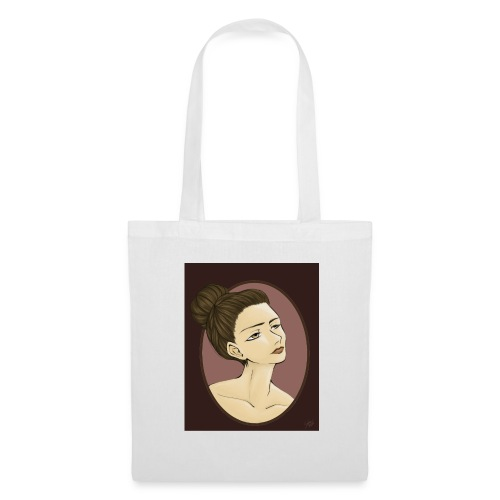 Girl illustration by Sofie Niebe - Tote Bag