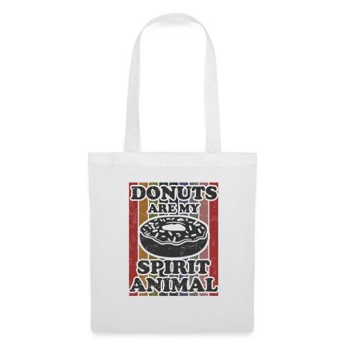 donuts are my spirit animal - Tas van stof