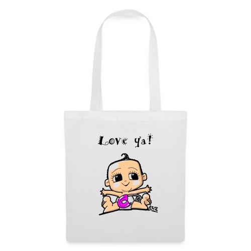 baby girl color - Tas van stof
