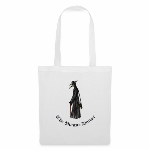 The Plague Doctor - Borsa di stoffa