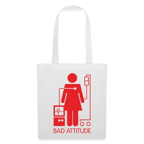 Bad Attitude Female - Tote Bag