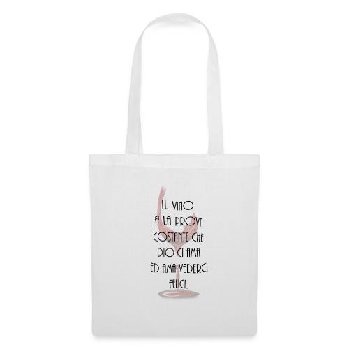 vino_italiano_ - Borsa di stoffa