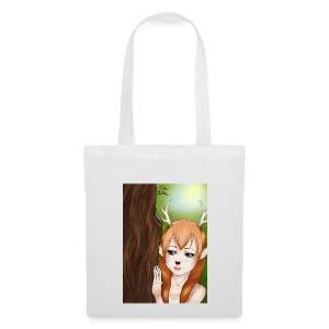 Womens tank: Deer-girl Design by Tina Ditte - Tote Bag