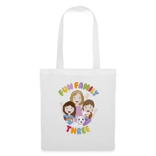 Fun Family Three Logo - Tote Bag