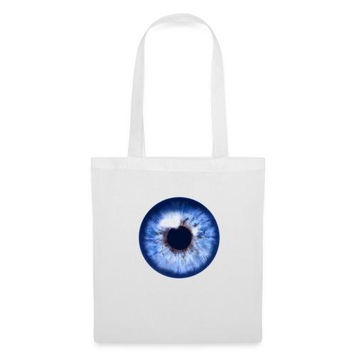 blue eye - Stoffbeutel