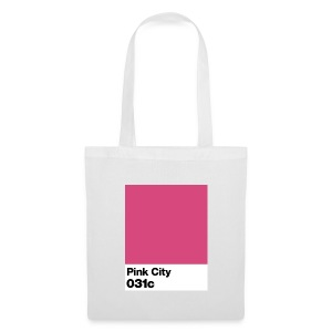 pink city - Tote Bag
