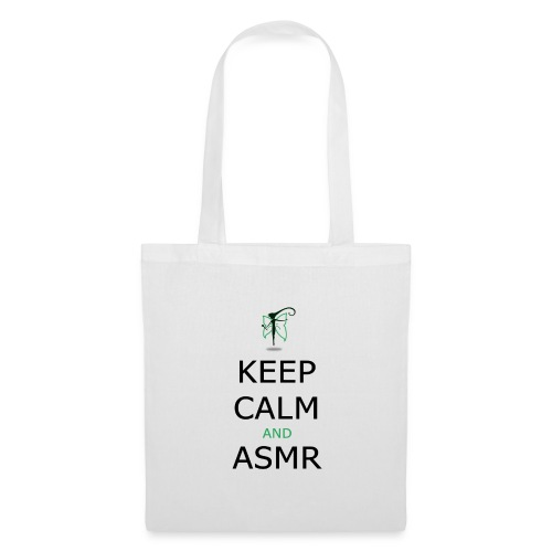 KEEP CALM AND ASMR - Borsa di stoffa