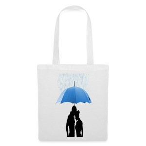 Love under the umbrella - Tas van stof