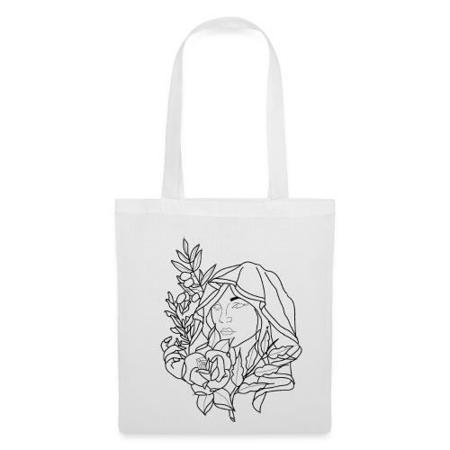 OG woman drawing. - Tote Bag