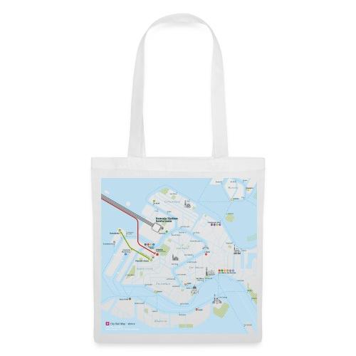 Venice Map Square - Tote Bag