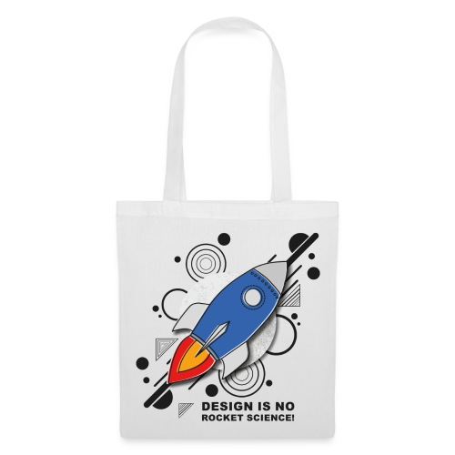 Design is no Rocket Science Nummer 3 - Stoffbeutel