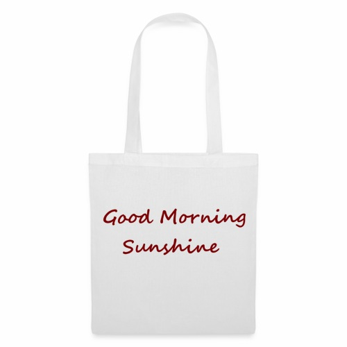 Good morning Sunshine - Tas van stof