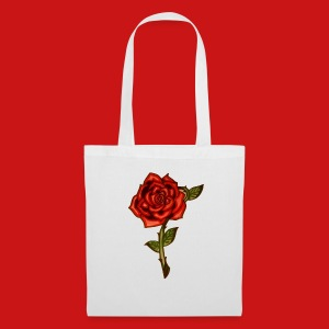 Red Rose - Borsa di stoffa