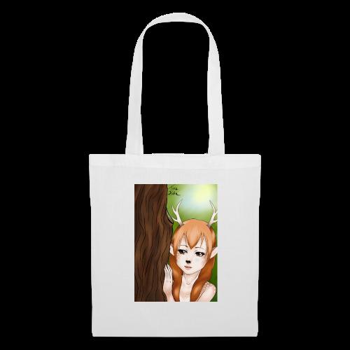 Sam sung s6:Deer-girl design by Tina Ditte - Tote Bag
