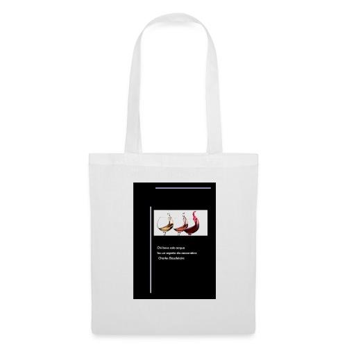 vino1 - Borsa di stoffa