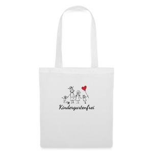 logo kindergartenfrei1 - Stoffbeutel