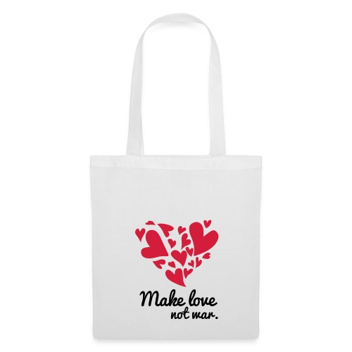 Make Love Not War T-Shirt - Tote Bag