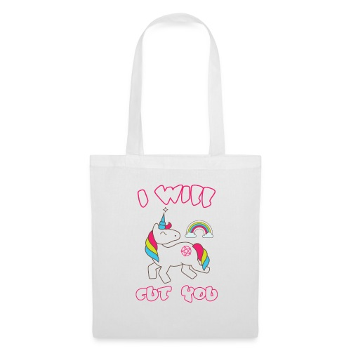 I WILL CUT YOU UNICORN NEW - Tote Bag