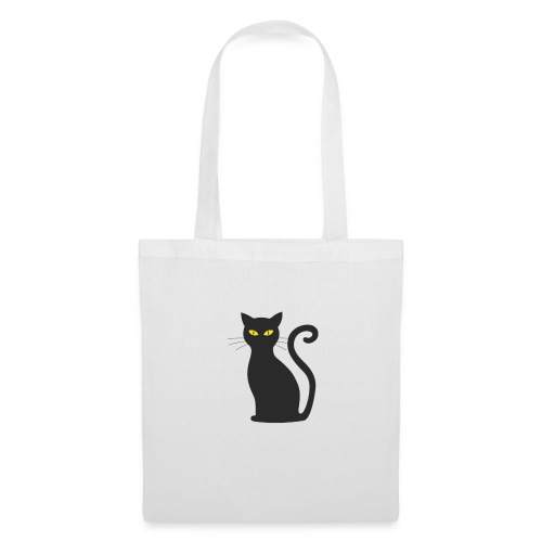 Schwarze Katze!!! - Stoffbeutel