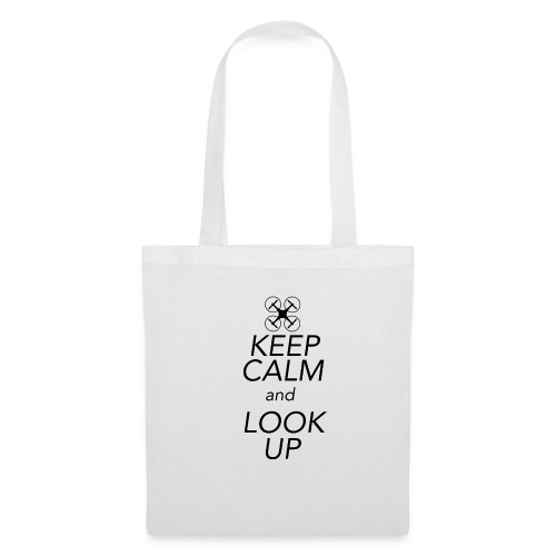 Keep Calm and Look Up - Tas van stof