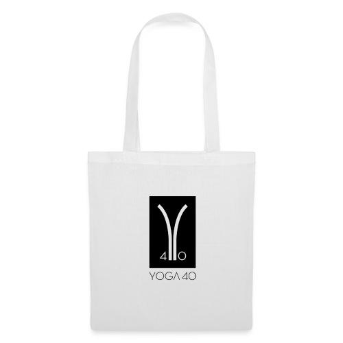 Y40 logotipo negro - Bolsa de tela