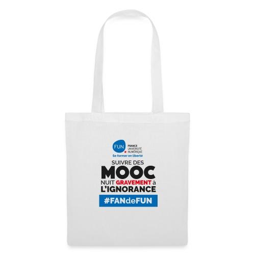 Suivre des MOOC nuit gravement à l'ignorance - Tote Bag