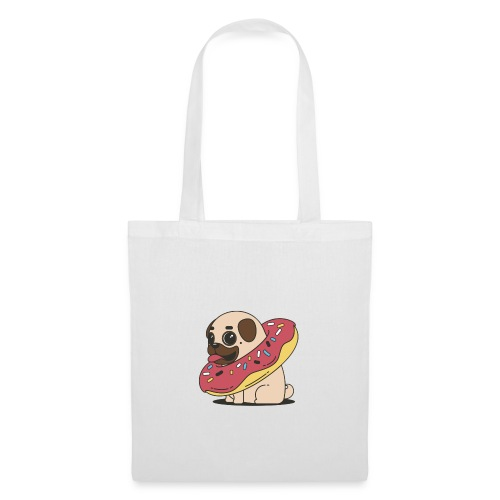 Cutie pug - Tote Bag