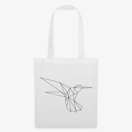 Vogel Formen geometrisch - Stoffbeutel