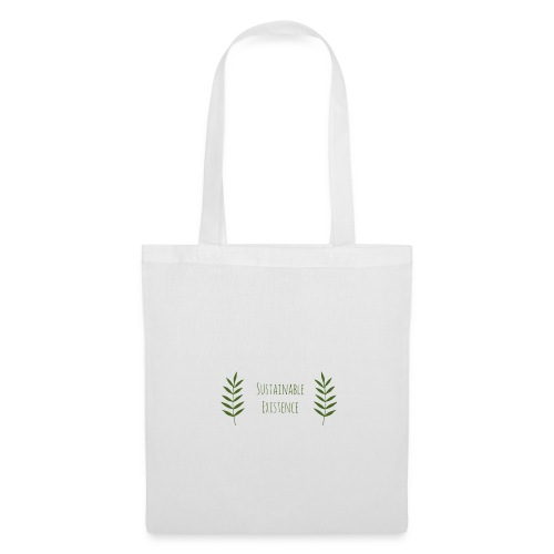 Sustainable Existence Logo (Green) - Tote Bag