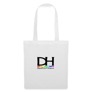 DH Health&Fitness Large logo - Tote Bag