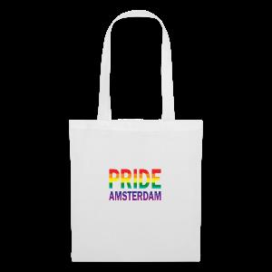Pride Amsterdam in regenboog kleur - Tas van stof
