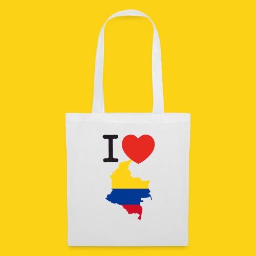 I love Colombia - Borsa di stoffa