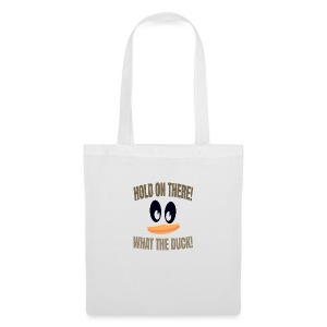 What The Duck Dark Text - Tote Bag