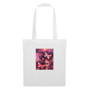 Papillons rouge - Tote Bag