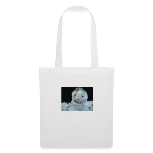 Snow Man - Tote Bag