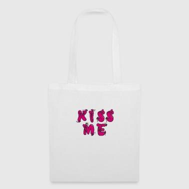 KISS ME - Stoffbeutel