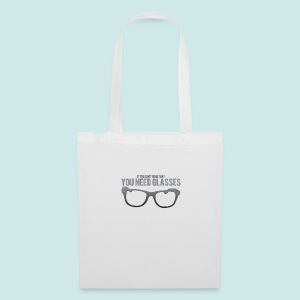 Need Glasses - Black - Tote Bag