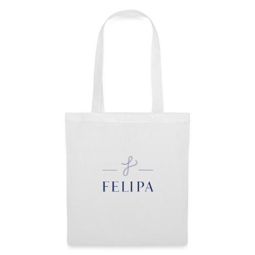 felipa Logo print - Stoffbeutel