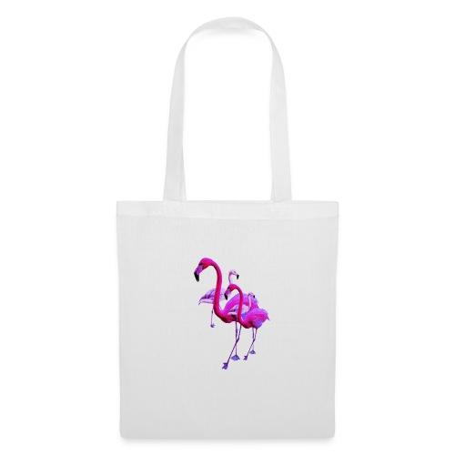 flamingodoppelt - Stoffbeutel