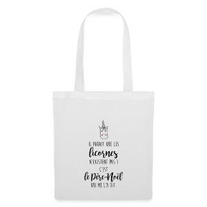 Il parait que les licornes - Tote Bag